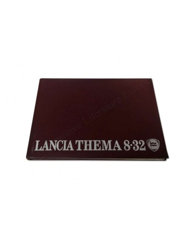 1989 LANCIA THEMA 8.32 OWNER'S MANUAL FRENCH