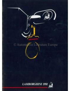 1991 LAMBORGHINI JAARBOEK ENGELS / ITALIAANS