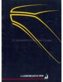 1990 LAMBORGHINI YEARBOOK ENGLISH / ITALIAN