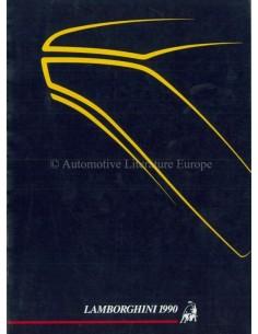 1990 LAMBORGHINI JAHRESBUCH ENGLISCH / ITALIENISCH