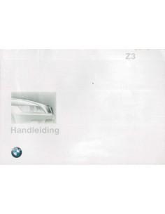 1997 BMW Z3 ROADSTER & COUPE BETRIEBSANLEITUNG NIEDERLÄNDISCH