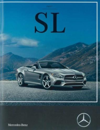 2017 Mercedes Benz Sl Klasse Brochure Engels Usa