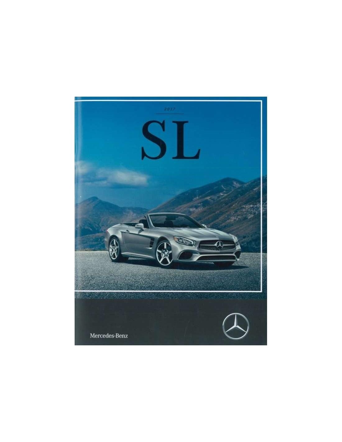 Bmw Z3 Brochure: 2017 MERCEDES BENZ SL KLASSE BROCHURE ENGELS USA