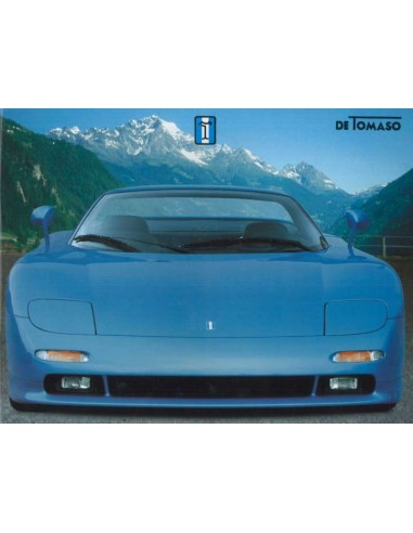 1996 DE TOMASO GUARA BARCHETTA BROCHURE