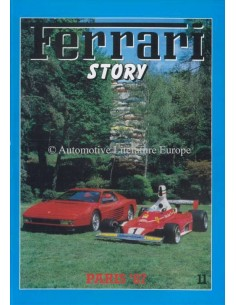 1987 FERRARI STORY PARIS MAGAZINE 11 ENGLISH / ITALIAN