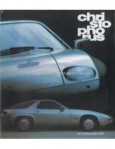 1982 PORSCHE CHRISTOPHORUS MAGAZINE 178 GERMAN