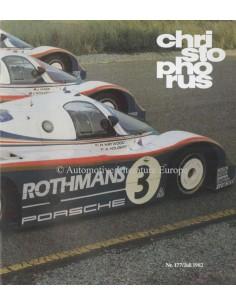 1982 PORSCHE CHRISTOPHORUS MAGAZINE 177 DUITS
