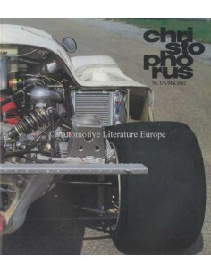 1982 PORSCHE CHRISTOPHORUS MAGAZIN 176 DEUTSCH
