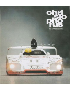 1982 PORSCHE CHRISTOPHORUS MAGAZINE 174 GERMAN