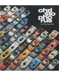 1982 PORSCHE CHRISTOPHORUS MAGAZIN 179 DEUTSCH