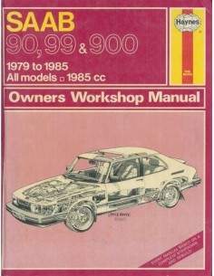 1979 - 1985 SAAB 90 99 900 HAYNES OWNERS WORKSHOP MANUAL