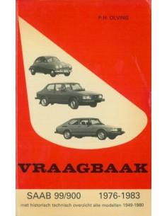 1976 - 1983 SAAB 99 900 BENZINE VRAAGBAAK NEDERLANDS