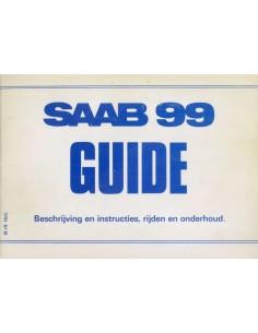 1978 SAAB 99 BETRIEBSANLEITUNG NIEDERLÄNDISCH