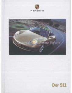 2000 PORSCHE 911 CARRERA HARDCOVER BROCHURE GERMAN