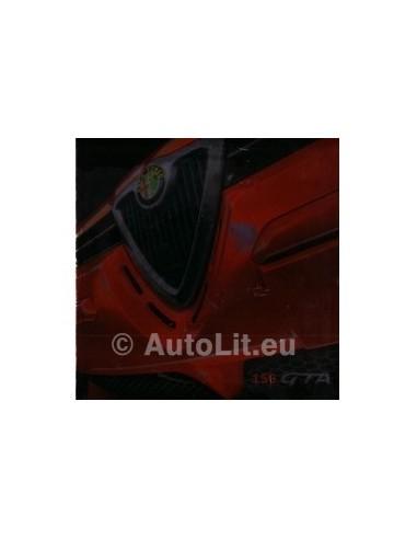 2002 ALFA ROMEO 156 + SPORTWAGON GTA BROCHURE DUITS