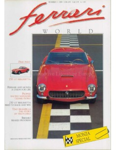 1989 FERRARI WORLD MAGAZINE 3 ENGLISH