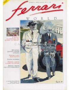 1990 FERRARI WORLD MAGAZINE 6 ITALIENISCH
