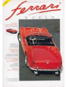 1990 FERRARI WORLD MAGAZINE 5 ITALIAANS