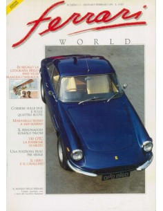 1991 FERRARI WORLD MAGAZINE 11 ITALIAANS