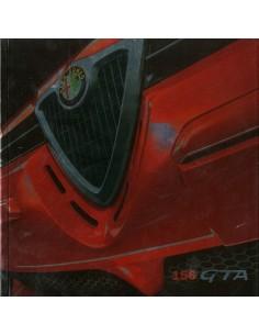 2002 ALFA ROMEO 156 + SPORTWAGON GTA BROCHURE DUTCH