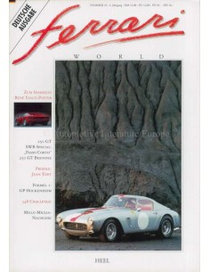 1993 FERRARI WORLD MAGAZINE 10 DUITS