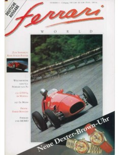 1993 FERRARI WORLD MAGAZINE 11 DUITS