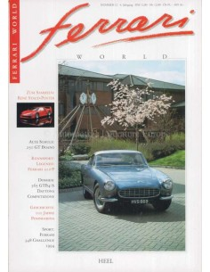 1994 FERRARI WORLD MAGAZINE 12 DUITS