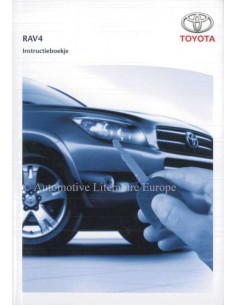 2005 TOYOTA RAV4 OWNERS MANUAL DUTCH