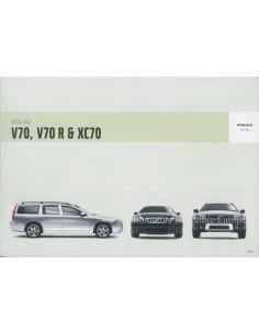 2005 VOLVO V70 R & XC70 INSTRUCTIEBOEKJE NEDERLANDS