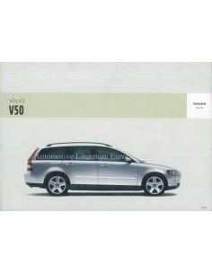 2005 VOLVO V50 OWNERS MANUAL DUTCH