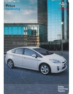 2009 TOYOTA PRIUS OWNERS MANUAL DUTCH