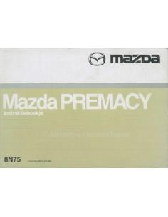 1999 MAZDA PREMACY OWNERS MANUAL DUTCH