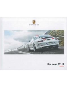 2017 PORSCHE 911 R HARDCOVER BROCHURE GERMAN