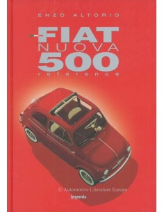 FIAT NUOVA 500 REFERENCE BY ENZO ALTORIO BOOK