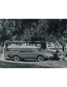 1967 ALFA ROMEO SPIDER 1750 VELOCE PRESSE BILD