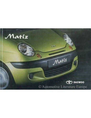 2003 daewoo matiz owners manual dutch rh autolit eu Kia Optima Manual Renault Laguna Manual