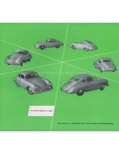 1954 PORSCHE 356 PROSPEKT DEUTSCH