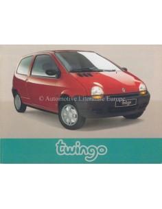 1993 RENAULT TWINGO INSTRUCTIEBOEKJE DUITS