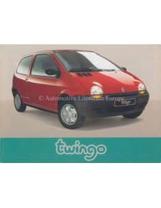 1993 RENAULT TWINGO OWNERS MANUAL GERMAN