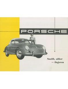 1956 PORSCHE 356 CARRERA 550 SPYDER PROSPEKT SCHWEDISCH