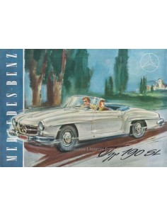 1955 MERCEDES BENZ 190 SL BROCHURE GERMAN