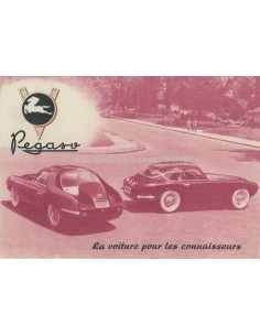 1954 PEGASO 102 B BS BROCHURE FRENCH