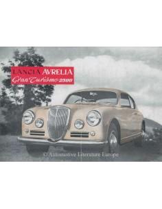 1955 LANCIA AURELIA GRAN TURISMO 2500 BROCHURE ENGELS