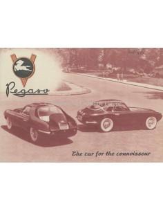 1954 PEGASO 102 B BS BROCHURE ENGELS