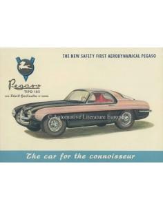 1954 PEGASO 102 B BS PROSPEKT TOURING ENGLISCH