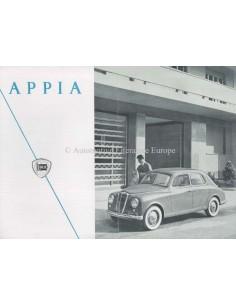 1953 LANCIA APPIA LIMOUSINE BROCHURE ITALIAANS