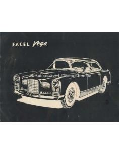 1956 FACEL VEGA FV2B PROSPEKT FRANZÖSISCH ENGLISCH