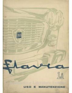 1964 LANCIA FLAVIA OWNERS MANUAL ITALIAN