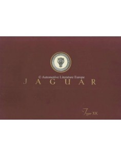 1953 JAGUAR XK120 SUPER SPORTS TWO-SEATER BROCHURE ENGLISH