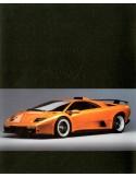 1999 LAMBORGHINI DIABLO GT BROCHURE ITALIAANS ENGELS